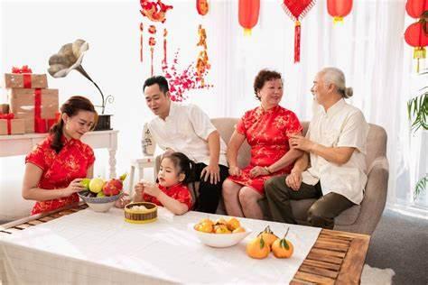 中国人を尋ねる風習